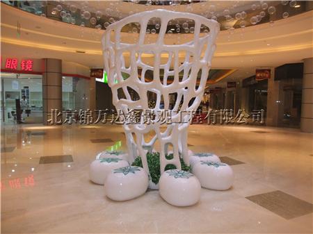 玻璃钢鱼网座椅